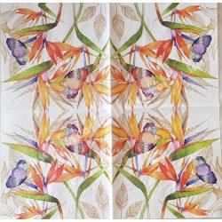 Szalvéta, pillangó 4., 25x25 cm