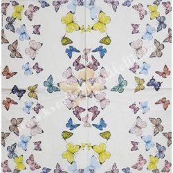 Szalvéta, pillangó 33x33 cm (5)