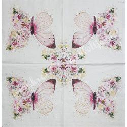 Szalvéta, pillangó 33x33 cm (6)