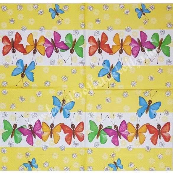 Szalvéta, pillangó, 33x33 cm (8)