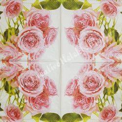 Szalvéta, rózsa, 33x33 cm (13)