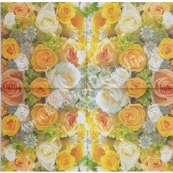 Szalvéta, rózsa 15.