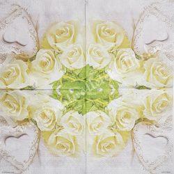 Szalvéta, rózsa 18.
