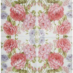 Szalvéta, rózsa, 33x33 cm (31)