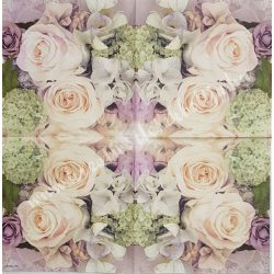 Szalvéta, rózsa, 33x33 cm (6)