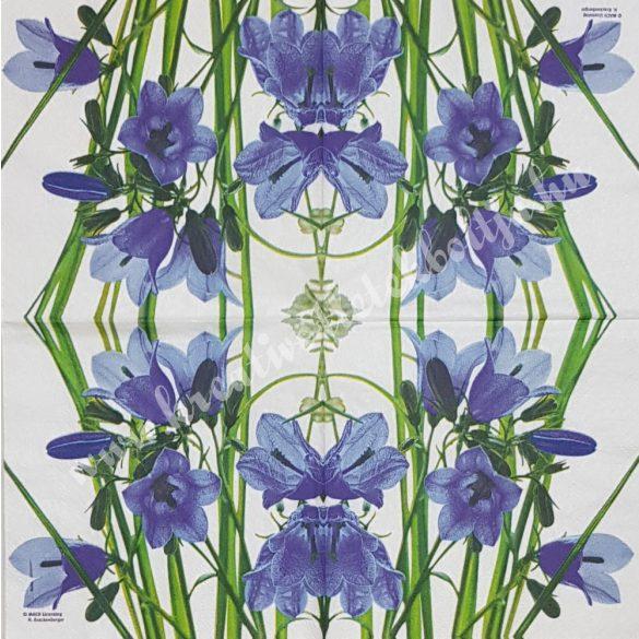 Szalvéta, tavaszi virágok, 25x25 cm (1)