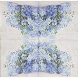 Szalvéta, tavaszi virágok,  33x33 cm (11)