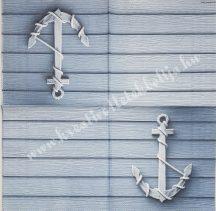 Szalvéta, tenger, hattyú, 32x32 cm, 1 darab