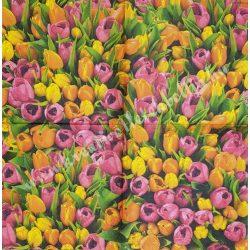 Szalvéta, tulipán, 33x33 cm (16)