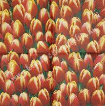 Szalvéta, tulipán, 25x25 cm, 1 darab
