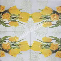 Szalvéta, tulipán, 33x33 cm (6)
