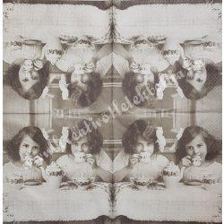 Szalvéta, vintage, 33x33 cm (9)