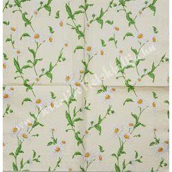 Szalvéta, virágok 35., margaréta, 25x25 cm