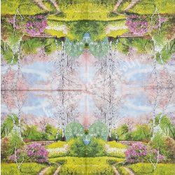 Szalvéta, virágok 33x33 cm (3)