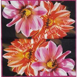 Szalvéta, virágok 5., 25x25 cm