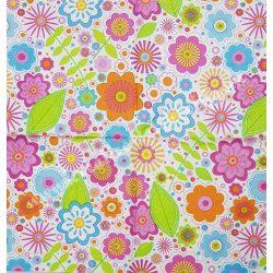 Szalvéta, virágok, 33x33 cm (59)