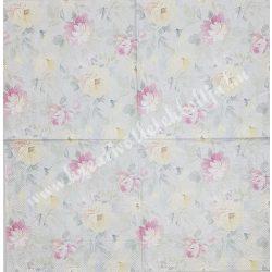 Szalvéta, virágok 7., 33x33 cm