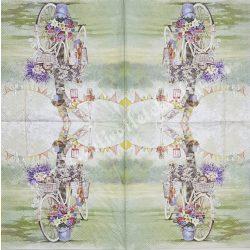 Szalvéta, virágok 33x33 cm (74)