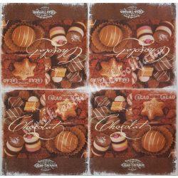 Szalvéta, édesség, bonbon, 33x33 cm (25)