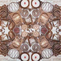 Szalvéta édesség 29., 33x33 cm