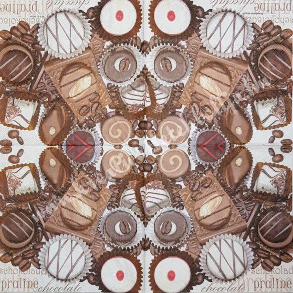 Szalvéta édesség, 33x33 cm (29)