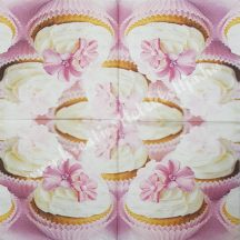 Szalvéta, édesség, muffin, 32x32 cm, 1 darab