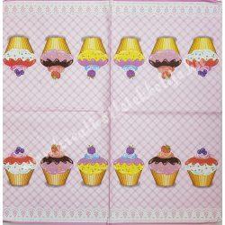 Szalvéta, édesség, muffin, 33x33 cm (5)