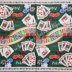 Szalvéta, férfiaknak, póker, 32x32 cm, 1 darab
