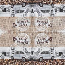 Szalvéta kávé 24., 33x33 cm