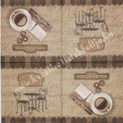 Szalvéta, kávé, tea, 33x33 cm (16)