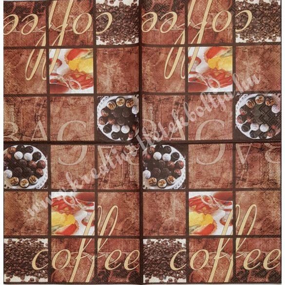 Szalvéta, kávé, tea, 33x33 cm (20)