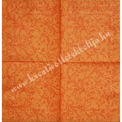 Szalvéta, mintás, inda minta, 25x25 cm, 1 darab