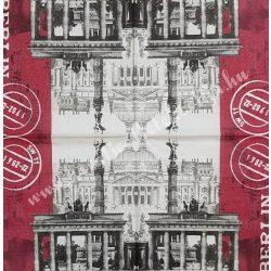 Szalvéta, városok, 33x33 cm, Berlin (4)
