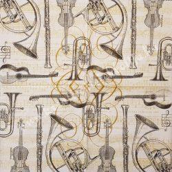 Szalvéta, zene 33x33 cm (6)