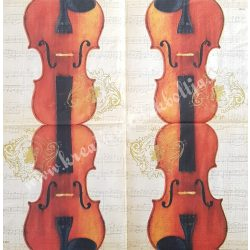 Szalvéta, zene 33x33 cm (5)