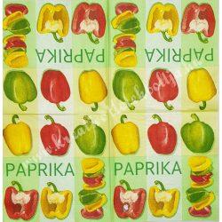 Szalvéta, zöldségek 33x33cm (8)