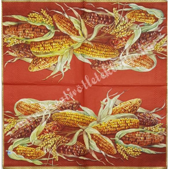 Szalvéta, kukorica, 25x25 cm (16)