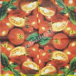 Szalvéta, paradicsom, 32x32 cm, 1 darab