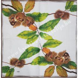 Szalvéta , Ősz 25. , 33x33 cm, 1 darab