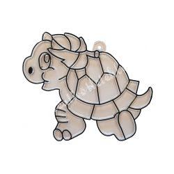 Festhető forma matricafestékhez, teknős