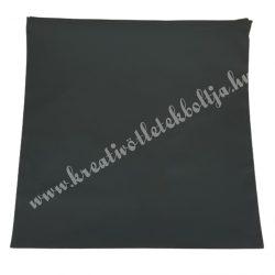 Díszpárnahuzat, cipzáras, fekete, 40x40 cm