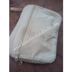 Cipzáras hátizsák, összecsukható, bézs, Utolsó 1 darab
