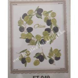 Textiltranszfer, oliva, 25x35 cm