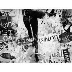 Textiltranszfer, fasion, 21x30 cm