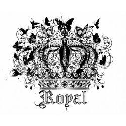 Textiltranszfer, royal, 21x30 cm