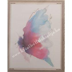 Textiltranszfer, pillangó, 25x35 cm