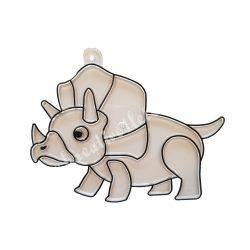 Festhető forma matricafestékhez, triceraptos