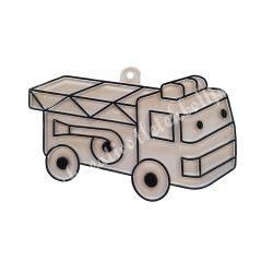 Festhető forma matricafestékhez, tűzoltóautó