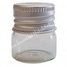 Üvegfiola, csavaros, 32x25 mm, 1 darab