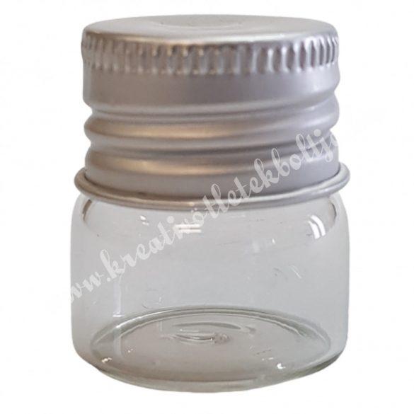 Üvegfiola, csavaros, 32x25 mm